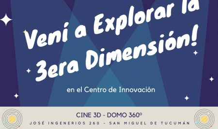 Participá de esta experiencia audiovisual en el Centro de Innovación