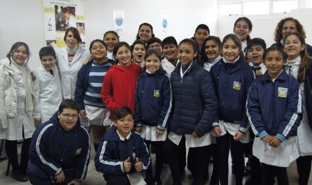 La escuela Nº 372 Campo de las Carreras participó de una nueva jornada INNVOC