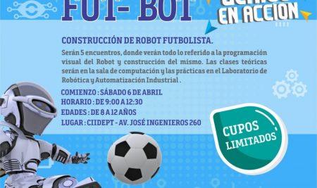Fut-Bot la nueva propuesta de Genios en Acción