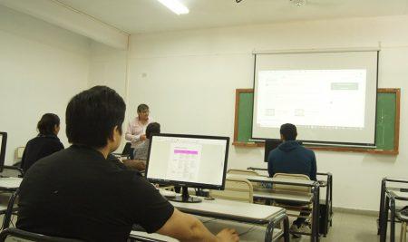 """Formación Docente en el Laboratorio de Computación:  """"Herramientas colaborativas online para gestión del aula""""."""