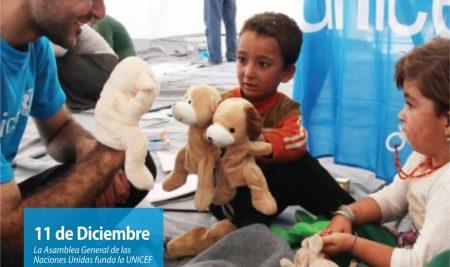 Efemérides CIIDEPT | 11 de diciembre: La Asamblea General de las Naciones Unidas funda UNICEF
