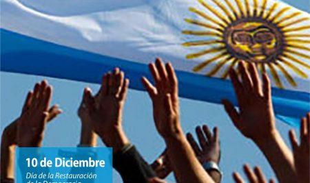 Efemérides CIIDEPT   10 de diciembre: Día de la Restauración de la Democracia