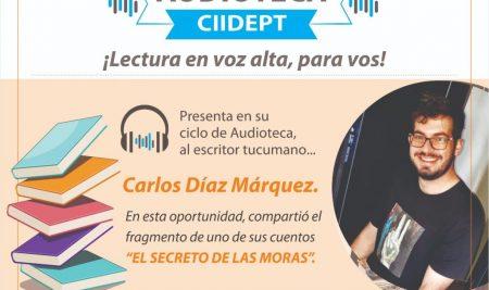Audioteca CIIDEPT: Carlos Díaz Márquez.