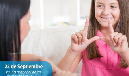 Efemérides CIIDEPT | 23 de Septiembre: Día Internacional de las Lenguas de Señas
