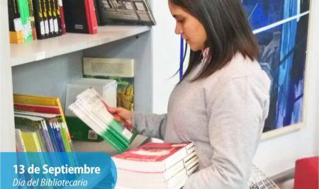 Efemérides CIIDEPT | 13 de Septiembre: Día del Bibliotecario