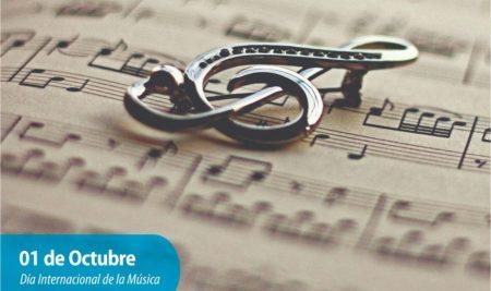 Efemérides CIIDEPT | 01 de Octubre: Día Internacional de la Música