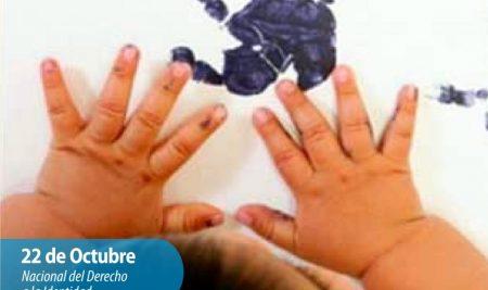 Efemérides CIIDEPT | 22 de Octubre: Día Nacional del Derecho a la Identidad