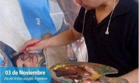 Efemérides CIIDEPT | 3 de Noviembre: Día del Artista plástico argentino